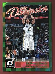 2015-16 Donruss Elite Dominator #20 Anthony Davis 限量亮面卡 鵜鶘隊