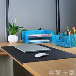 滑鼠墊滑鼠墊超大商務辦公桌墊防水筆記本電腦桌墊無異味桌面墊學生寫字 一級棒Al雙12狂歡