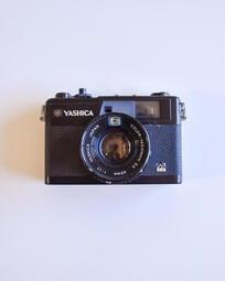 yashica electro 35 gx 古董 底片相機 黑機