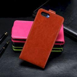 OPPO AX5 牛皮仿製真皮 上下翻蓋上下掀上下開直立式 手機殼手機套皮套保護套保護殼O0192