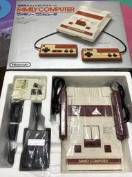 超美品 稀有 任天堂 初版 FC 紅白機 原裝全套含盒及各項書類齊全