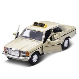 1/36 WELLY 合金迴力車 BENZ W123 計程車 出租車 TAXI 老賓士