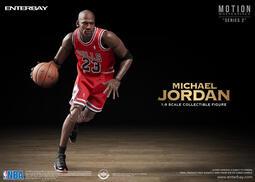 【蛋太郎】預定第四季 ENTERBAY 1:9 NBA Michael Jordan 麥可-喬丹(MM-1207) 免運