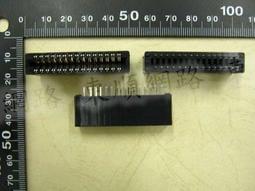 **東順網路** SLOT 2.54mm 30P 180度 金手指連接器 / 金手指插座