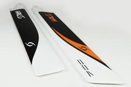 【天鷹遙控】全新 HALO 哈囉槳 700mm碳纖槳/700mm碳纖主旋翼/700大槳/700L(CFA) 217321