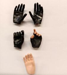 12吋人偶 1/6 女用 裸手 手套手 組 10(女素體 包膠素體 可用)