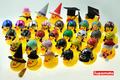 -Supamoto- 小鴨 LED 喇叭 燈 黃色小鴨 頭盔...