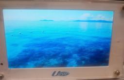 二手Ueye (U571) 7吋全彩寬螢幕液晶數位相框(只有插電測試只售主機無配件)