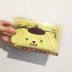 【出清】日本三麗鷗布丁狗 iphone6/6S皮質口金包掀蓋手機殼 手機套 全新現貨