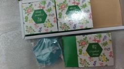 蘭麗 翡翠 保濕透明皂禮盒3入   1盒50
