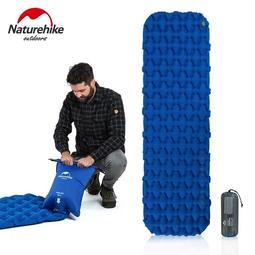 【裝備部落】Naturehike NH充氣睡墊 氣袋式充氣 超輕加厚型竹片式充氣袋睡墊 / 蛋巢式氣墊 / 單人防潮墊