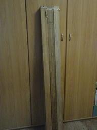 詩肯柚木  雙人床架排骨架 5*6.2尺(非樺木 好像是柳桉木) 獨立筒的床架空隙應小於鋼圈的直徑(大約5公分內)