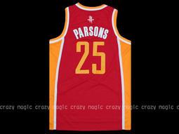 ADIDAS NBA 球衣休士頓火箭隊Chandler Parsons 電繡SWINGMAN 紅色高富帥 bf67b2357