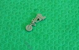 1/72~樹脂剩餘套件~美國/國軍F-5E/F細節較好的前起落架/鼻輪(相對HobbyBoss/Italeri)-外型1