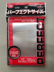 [幻想卡鋪] KMC Perfect Size Sleeves 64mm x 89mm 100張 第一層 薄套 PTCG