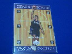 阿克漫236-19~NBA-1998-99年Upper Deck RC卡Jason Williams 只有一張