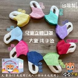 一八三口罩醫材 (大童)(中幼童)NANA奈奈小熊 兒童立體(3D)口罩 兒童口罩 台灣製  小臉女成人