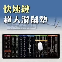 電腦文書繪圖製圖軟體快速鍵 超大滑鼠墊 加大滑鼠墊 鍵盤墊 辦公室軟墊 電競專用 工作墊 桌墊 電腦繪圖專用 防滑墊