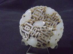 和闐玉富貴牌 重約23公克-50526