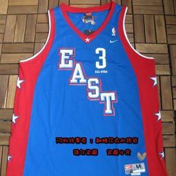 NBA球衣費城76人Allen Iverson戰神復古網眼美國夢幻隊全明星賽艾佛森球衣