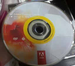 ADOBE CS6 CREATIVE SUITE 6 DESIGN & WEB PREMIUM 教育版--無序號 /2手