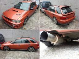 (已售出)1998 GF8 五門IMPREZA 硬皮鯊 零件車,4WD 渦輪套件 全車精品改裝,不拆賣 整車五萬拖走。非STI、WRX、淚眼鯊、GC8、GDB