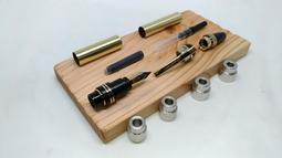 【分享工房】木工DIY Churchill Fountain Pen KIT 邱吉爾 鋼筆 套件 車床車筆套件 製筆套件
