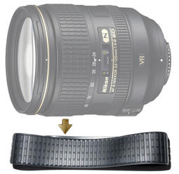 【NRC】Zoom Rubber Ring for Nikon 24-120mm F4G VR 變焦環