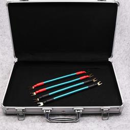 (現貨)Edison audio 純銅 + 2股銀芯 美國鍍金Y插 喇叭線   跳線 (20公分一組4條)