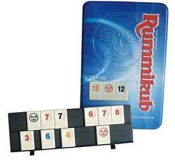 【派派桌遊】拉密數字牌鐵盒版 Rummikub travel 加購沙漏20元