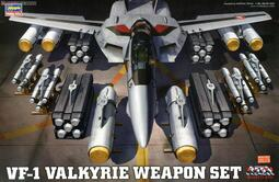 ≡MOCHO≡ 1月預購 Hasegawa 1/48 超時空要塞 VF-1 Valkyrie 武器套組 組裝模型