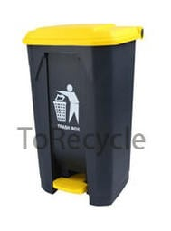 腳踏垃圾桶 80公升 資源回收桶 E80K