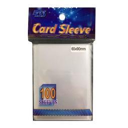 「紙牌屋」 現貨 RSS 卡套 透明卡套 第一層薄套 65x90mm 61x88mm 100張