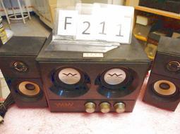 ★阿公的店★ F211 多媒體電腦喇叭 OZAKI WoW