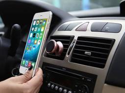 【鋁合金升級款】360度可調 手機 車架 導航 磁吸車架 支架 車用 手機架 汽車導航 iPhone 7 6S 5S