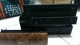 BMW E53 X5 原廠音響(主機已售出) 換片箱 卡帶主機 含核桃木式版~全部包回去$2000