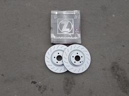 BENZ CLA200 X117 GLA X156 盤面295mm 前煞車盤(鑽孔).前碟盤(一組2片裝) 德國OZ