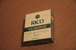 出清RICO RESERVE ALTO 中音薩克斯風SAX竹片(Vandoren穩定) 內有豎笛 clarinet 竹片