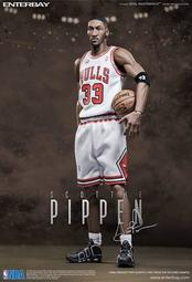 ENTERBAY PIPPEN 頭雕 皮朋 公牛 EB iverson NBA jordan kobe 暴龍 林書豪