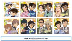 ★GAME BOX★預購4月(免訂金) 日版 Movic 名偵探柯南 雙人組 方形徽章集 中盒