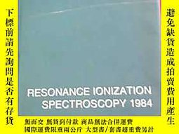 古文物RESONANCE罕見IONIZATION SPECTROSCOPY 1984露天172634