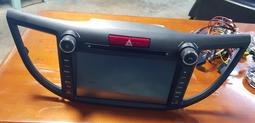 Honda四代CRV 8合一主機 8吋螢幕 Dvd USB 衛星導航USB藍牙 導航王圖資 所有配件完整直上