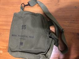 美軍公發M17A1防毒面具袋(全新)