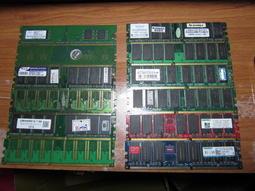 還不錯の 💕~良品~💕~桌上型電腦記憶體 DDR 128MB.256MB.512MB.1G~
