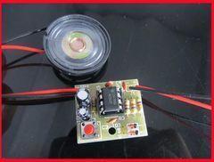 [含稅]DIY製作散件NE555叮咚門鈴套件 NE555門鈴套件 數字門鈴製作套件