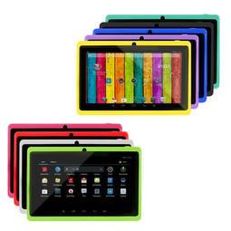 多款顔色 速度更快 雙鏡頭 雙核A23架構 7吋平板電腦 超薄純平 512MB/8GB/ 上網 文書 影片播放