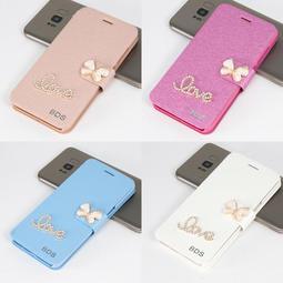 【GooMea】3免運 Moto X Pure Edition 蠶絲紋皮套 站立插卡 手機套 保護殼保護套 Love+花