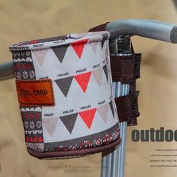 大里RV城市【COOl CAMP】抗撕裂飲料杯架/水壺套側杯座(可6吋手機)折疊椅扶手置物袋.文具筒 VO-1908