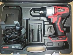 可刷卡分期高扭力650n.m日本ASAHI SF2150 無碳刷充電起子機/充電電動板手21V 三星厘電2.0AH*1