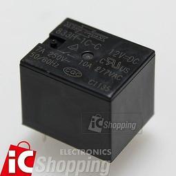 《iCshop3》833H-1C-C 12V繼電器 RELAY 12V 10A含稅附發票 [3680110000816]